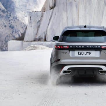 2019 Land Rover Range Rover Velar Driving Through Snow