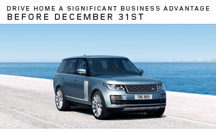 Land Rover Business Tax Advantage