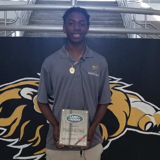 Land Rover palm Beach Player of the Week Micah Octave
