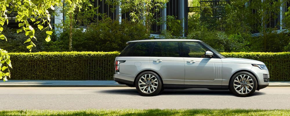 Range Rover Side View
