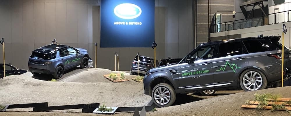 Land Rover Test Track at the 2019 Chicago Auto Show