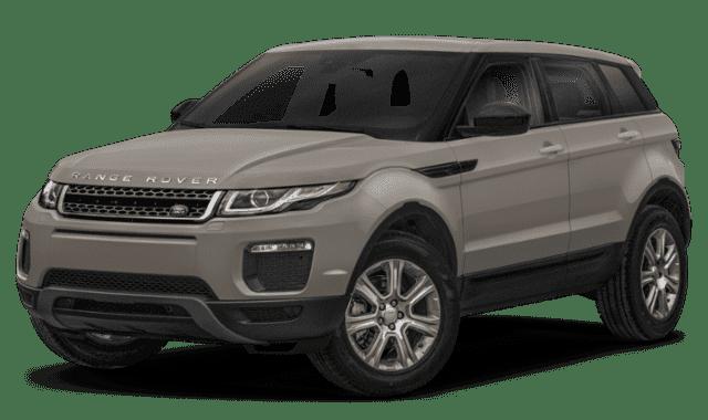 Cream 2019 Range Rover Evoque