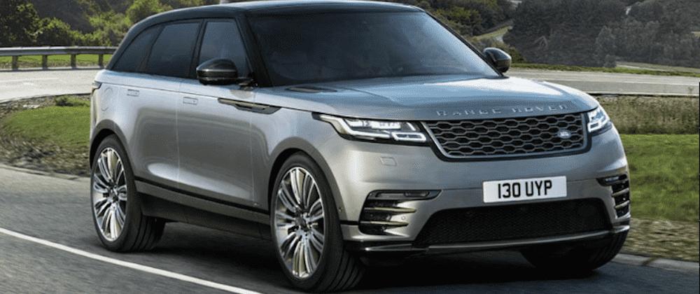 Silver 2020 Range Rover Velar