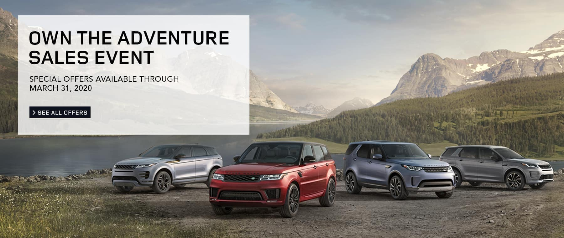 Own The Adventure Sales Event