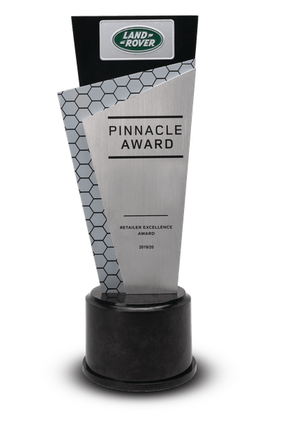 Land Rover Pinnacle Award