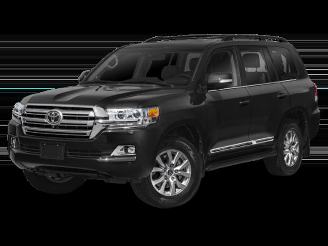 Black 2019 Toyota Land Cruiser
