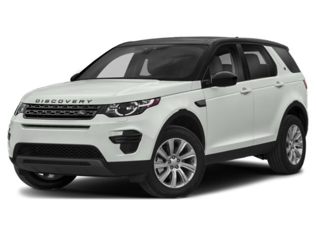 White 2019 Land Rover Discovery Sport