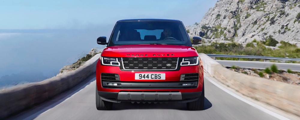 Red 2020 Range Rover