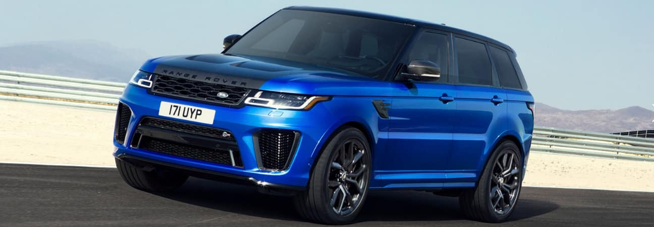 2019 Range Rover Sport parked on highway