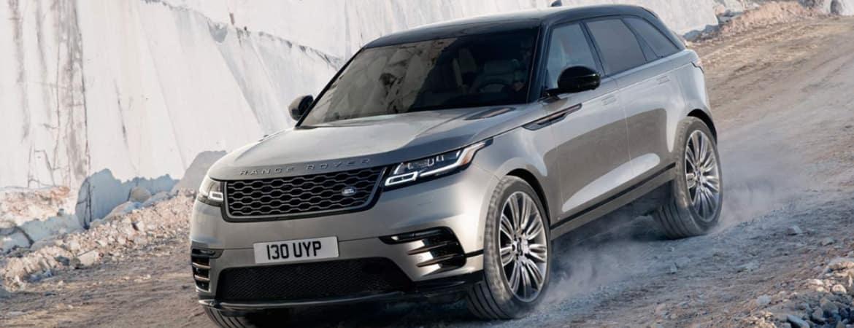 2019 Range Rover Velar on gravel path