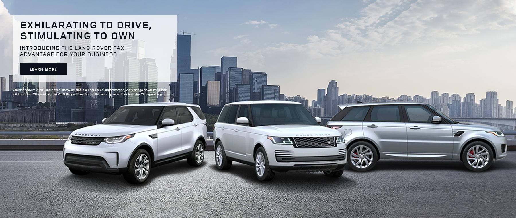 Land Rover Tax Advantage Campaign