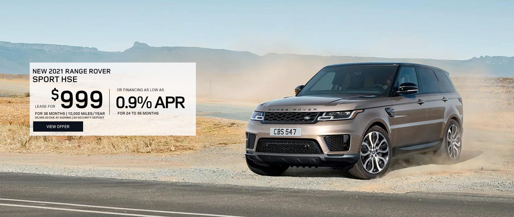 Range Rover Sport Special