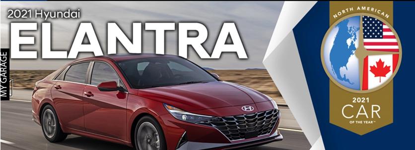 2021 Hyundai Elantra - 2021 Car of the Year