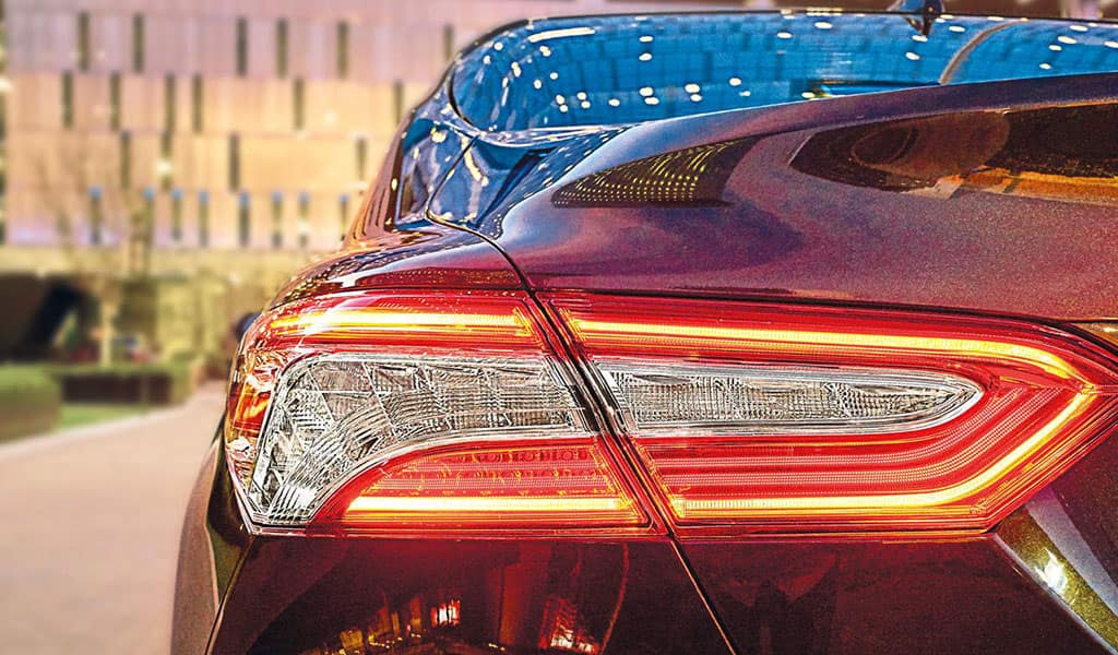 2018 Toyota Camry tail light