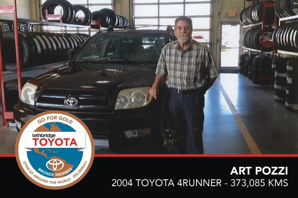 GFG. Bronze. Art Pozzi. 2004 Toyota 4Runner. 373 085 KM. July 2017