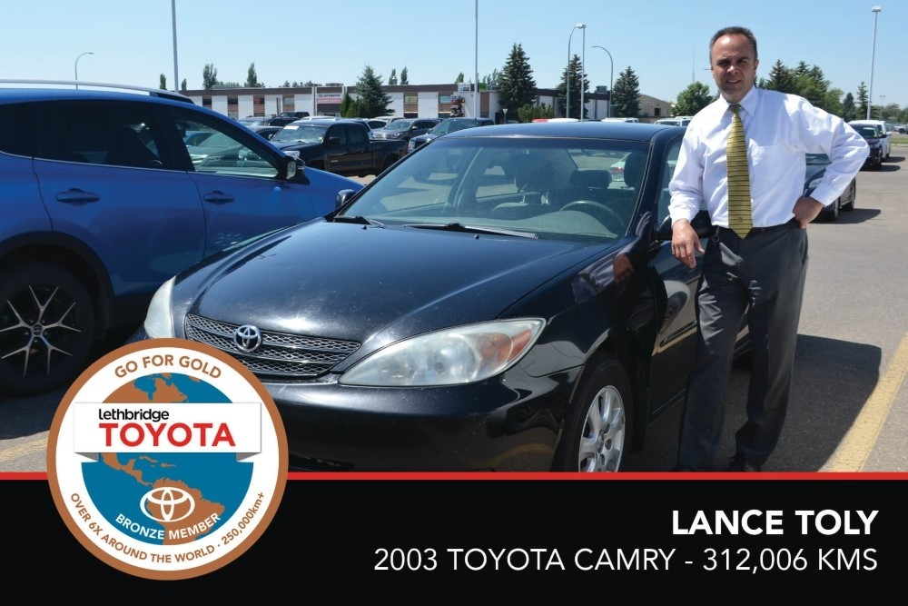 GFG. Bronze. LanceToly. 2003 Toyota Camry. 312 006.July2017