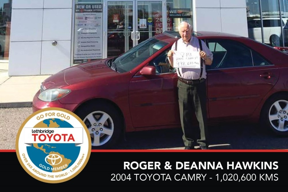GFG. Gold. Roger _ Deanna Hawkins. 2004 Toyota Camry. 1 020 600. July 2017