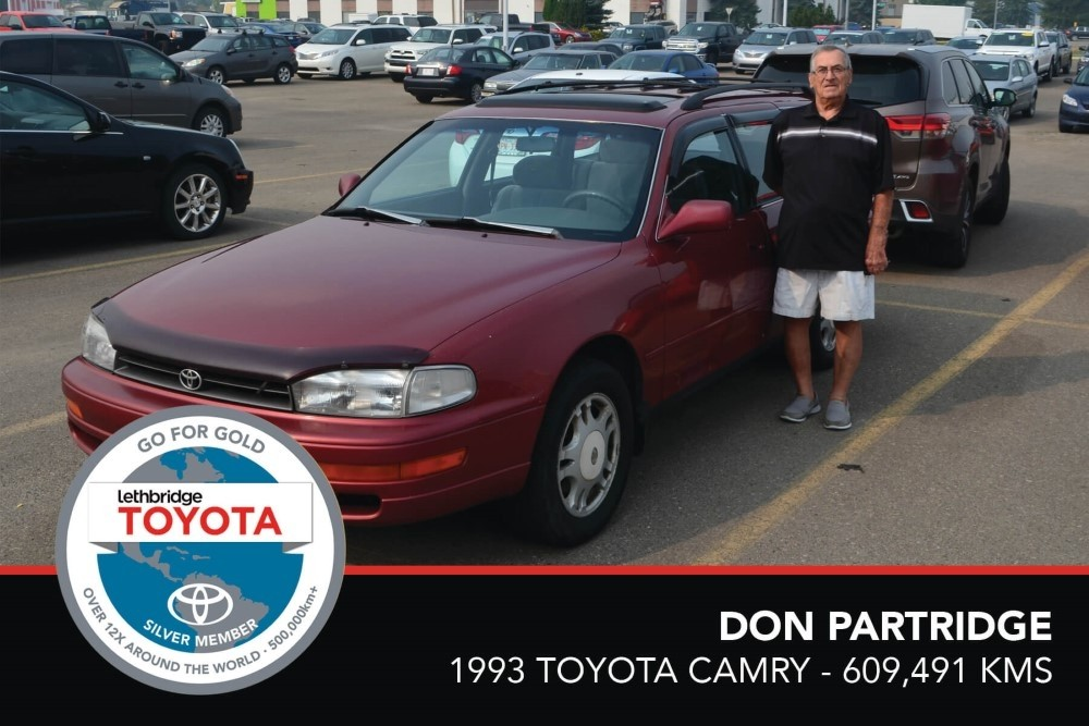 GFG. Silver. DonPartridge. 1993 Toyota Camry Wagon. 609,491. August 2017