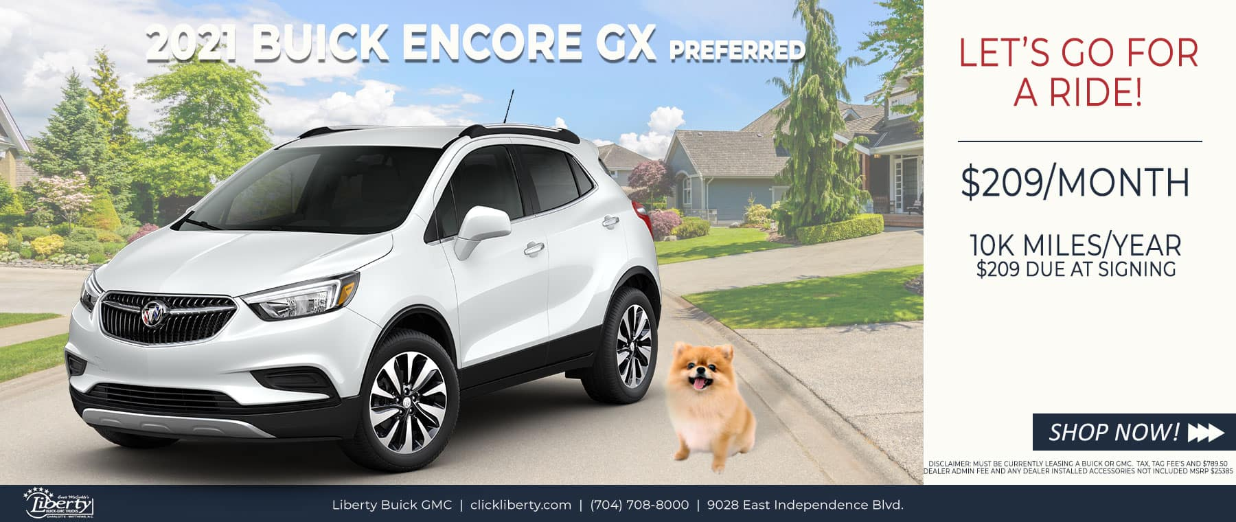 Liberty_April_Buick_EncoreGX_Preferred_Lease_Special
