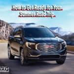 Summer Road Trip Checklist