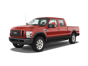 Red 2009 Used Ford-250 Super Duty