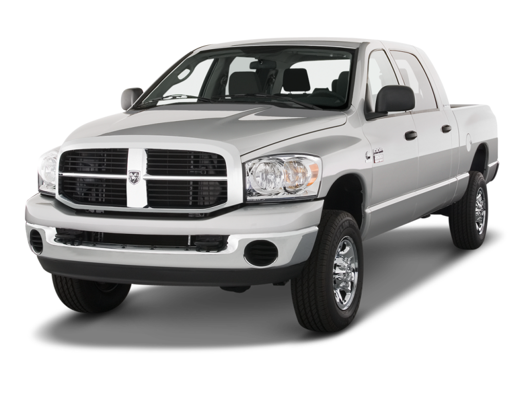 Silver 2009 Used Dodge RAM 2500 angled left