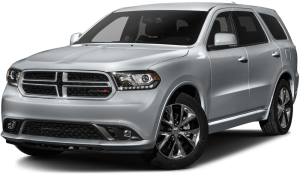Silver 2016 Used Dodge Durango angled left