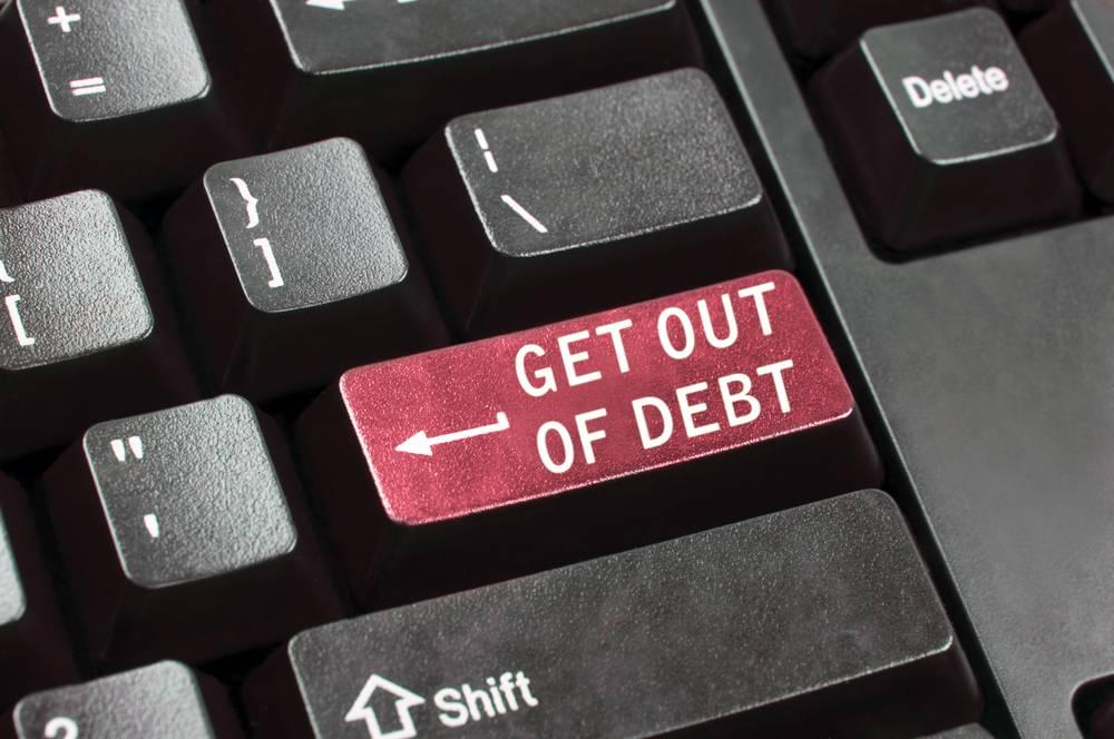 Get out of debt key