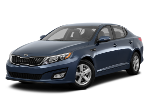 Blue 2015 Used Kia Optima angled left