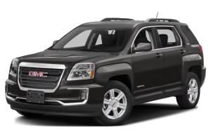 Black 2016 Used GMC Terrain angled left