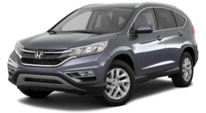 Gray 2016 Used Honda CR-V angled left