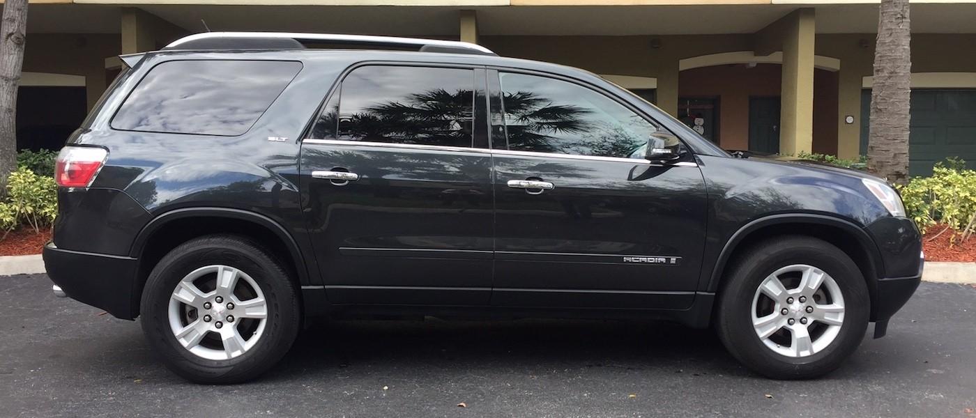 row sunroof seats acadia wheels panoramic sle gmc alloy heated detail used awd