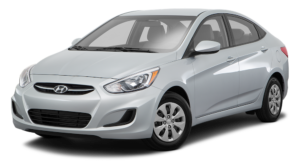 Silver Used Hyundai Accent