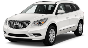 White Used Buick Enclave