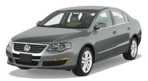 Silver Used Volkswagen Passat angled left