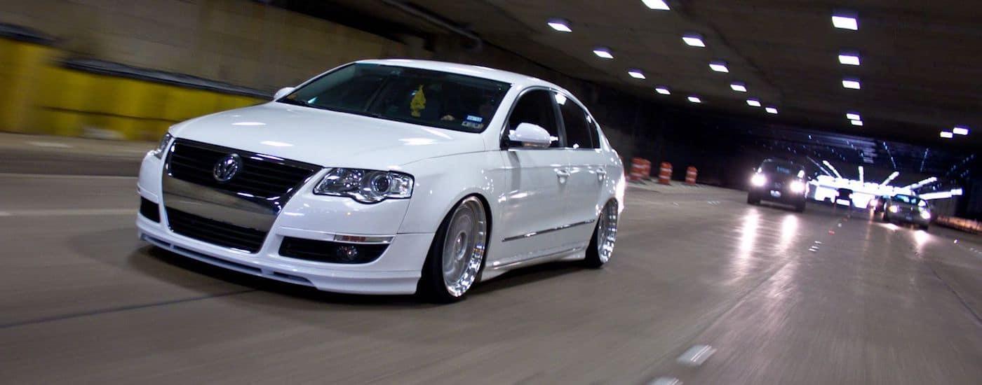 White 2006 Used Volkswagen Passat in a tunnel