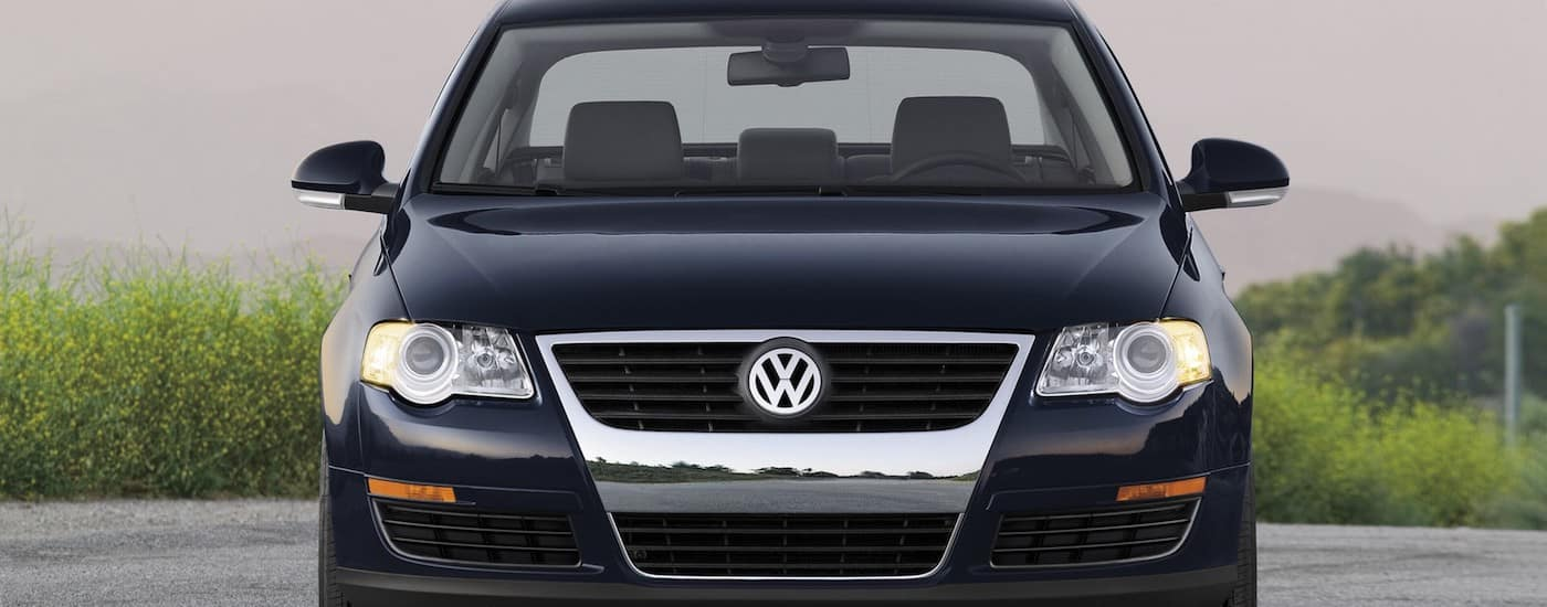 Black 2007 Used Volkswagen Passat from the front