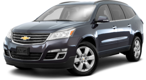 Silver 2016 Used Chevy Traverse