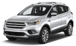 Silver 2017 Used Ford Escape angled left