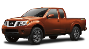 Orange Used Nissan Frontier