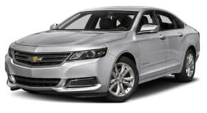 Silver 2017 Used Chevy Impala angled left