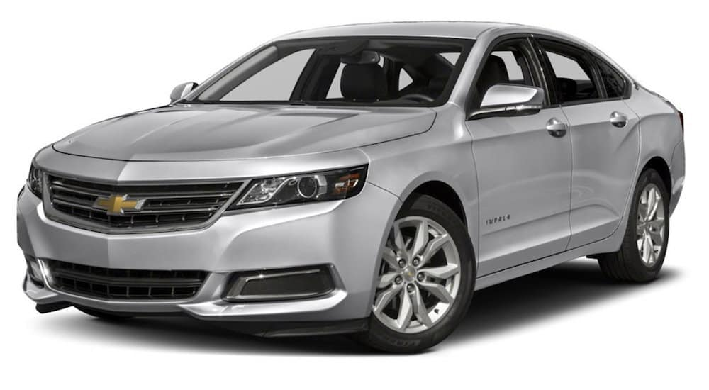 Silver 2017 Used Chevy Impala