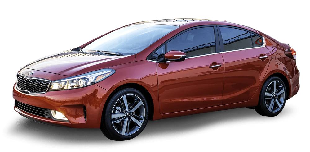 Red Used Kia Forte