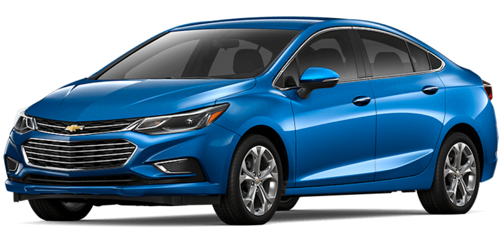Blue 2017 Used Chevy Cruze
