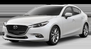 White Used Mazda3