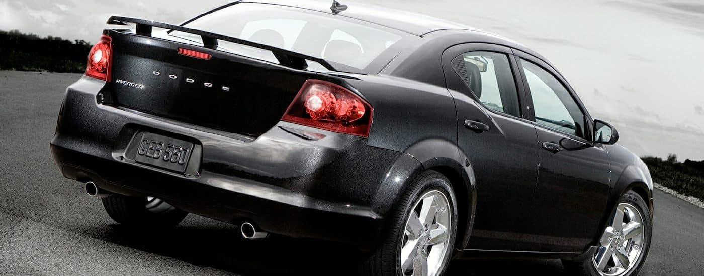 Black 2013 Used Dodge Avenger