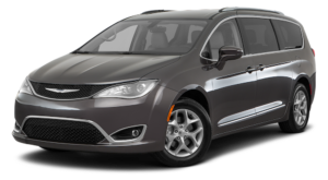 Gray Used Chrysler Pacifica angled left