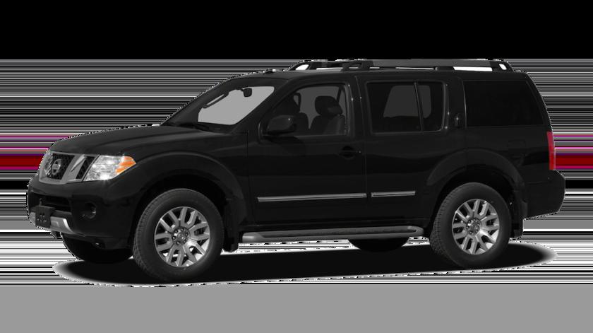 Black Used Nissan Pathfinder