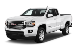 A white 2017 GMC Canyon