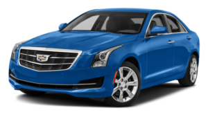 Blue 2017 Cadillac ATS